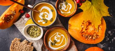 comida naranja para cuidar la salud en otoño
