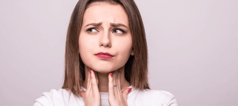 acido hilauronico dolor de garganta