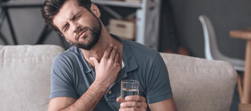 dolor de garganta evitar que empeore