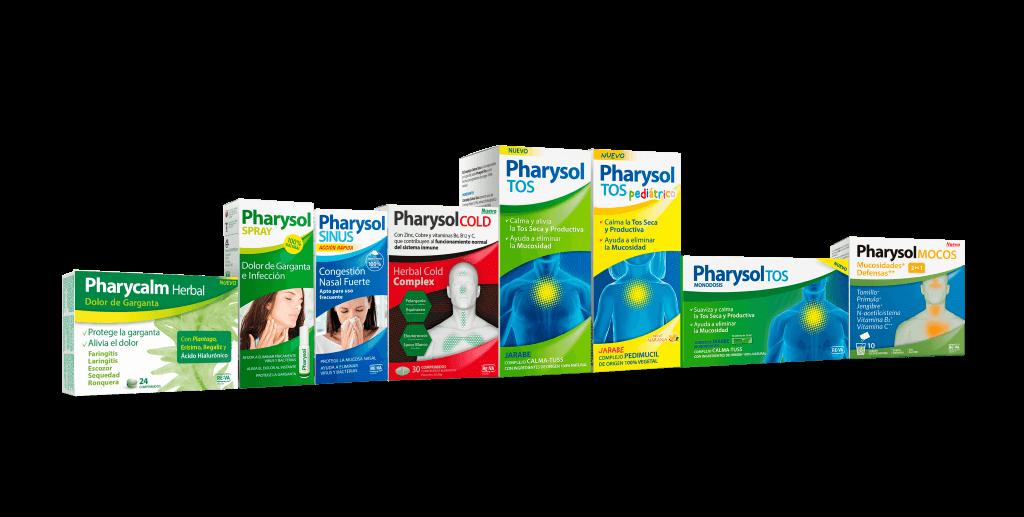 gama productos pharysol