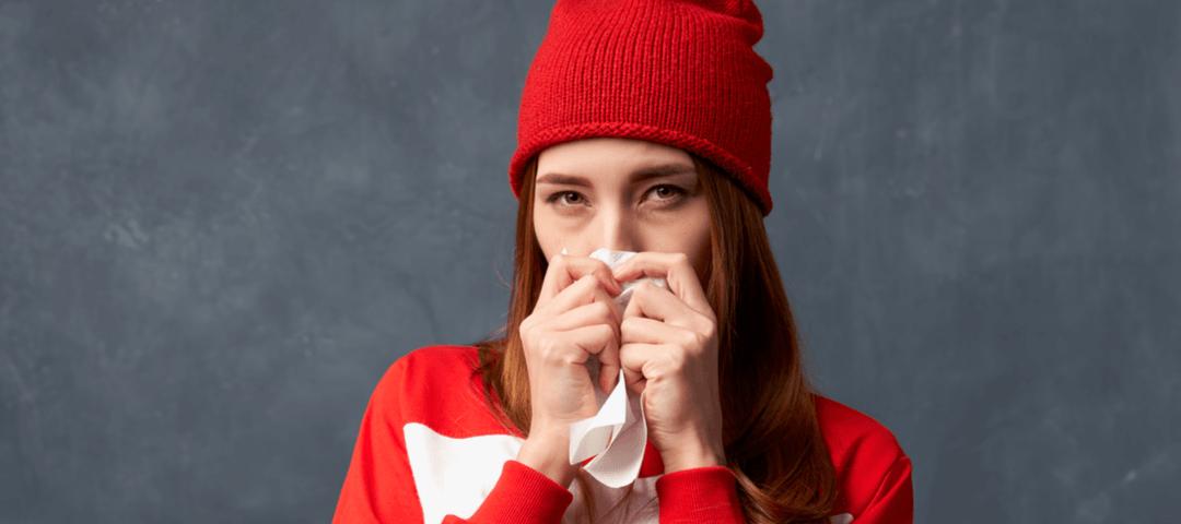 ojeras resfriado